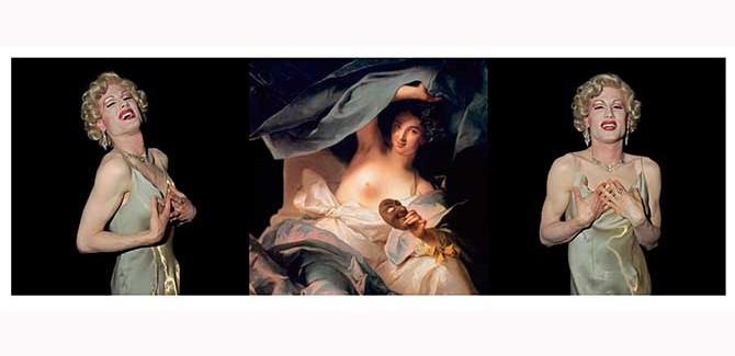Polixeni Papapetrou, 'Muse' 2002, light jet print, 80 x 240 cm (ed. of 6)