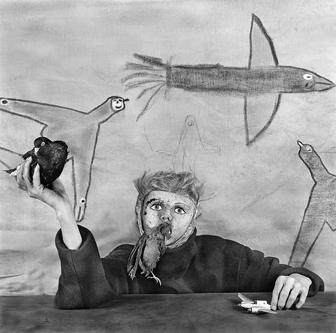 Roger Ballen, 'Take off' 2012. Image Courtesy of the artist and MONA Museum of Old and New Art, Hobart, Tasmania, Australia