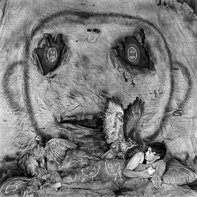 Roger Ballen, 'Threat' 2012. Image Courtesy of the artist and MONA Museum of Old and New Art, Hobart, Tasmania, Australia