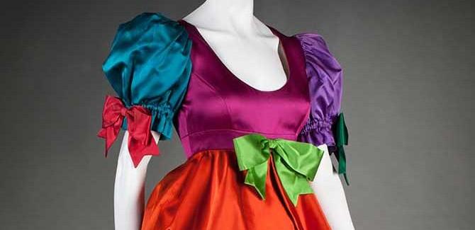 Evening dress (1992) Moschino S.p.A (est. 1983) Photographer: Brian E. Sanderson.