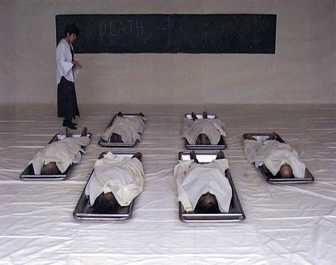 Araya Rasdjarmrearnsook, The Class (still) 2005, single-channel video installation. Courtesy the artist and 100 Tonson Gallery, Bangkok.