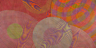 John Aslanidis, Sonic Network no. 13 (detail) 2013, oil and acrylic on canvas, 244 x 304 cm. Courtesy the artist and Gallery 9, Sydney.