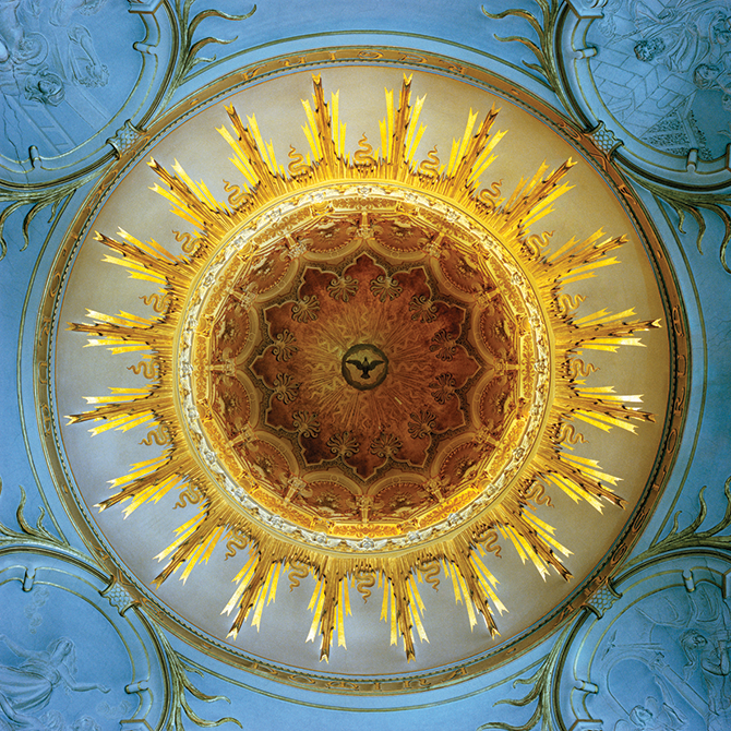 David Stephenson, Madonna degli Angeli, Torino 1993, from the series Domes 1993-2005, chromogenic print, 56.0 x 56.0cm. Monash Gallery of Art, City of Monash Collection, courtesy of the artist, John Buckley Gallery, Melbourne, Boutwell Draper Gallery, Sydney and Bett Gallery, Hobart Transcendence – Photographs by David Stephenson, Swan Hill Regional Art Gallery Horseshoe Bend, Swan Hill (VIC), until 23 November - swanhillart.com