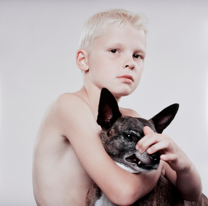 Petrina HICKS, Jackson and Tiger 2005, Lightjet print, 111 x 119cm, edition of 8. Courtesy: the artist.