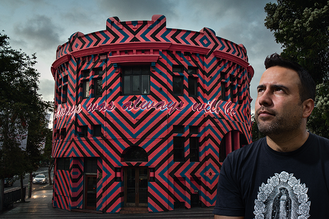 Søren Solkær, Reko Rennie (Australia), Sydney, 2012, Archival pigment print