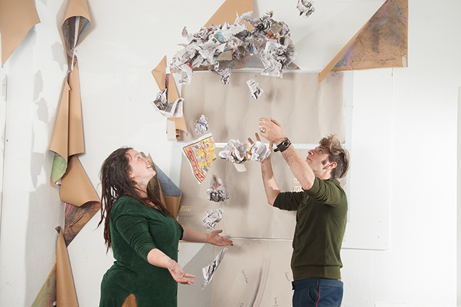 Gareth Hart and Justine Walsh, Odd Ball 'King and Queen', Dandenong Ranges Open Studios Weekend, across the Dandenong Ranges (VIC), 18 – 19 April 2015 - burrinja.org.au