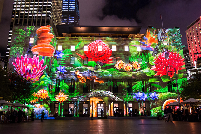 Vivid Sydney 2015: Enchanted Sydney - Customs House (Credit: Destination NSW), until 8 June 2015