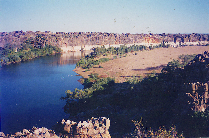 Geikie Gorge. Photo by Ben Laycock