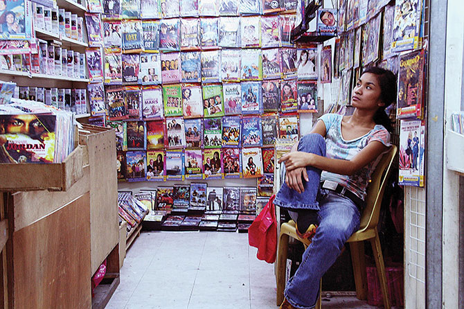 Production still from Now Showing 2008, Director: Raya Martin, image courtesy: the artist and Arleen Cuevas, Manila. APT8 Cinema: Filipino Indie, presented as part of 'The 8th Asia Pacific Triennial of Contemporary Art', GOMA, Cinema A, Until 6 APR 2016.