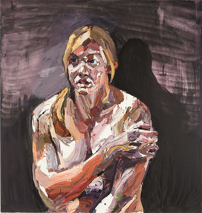 Ben Quilty, 'Captain Kate Porter, after Afghanistan' painted in Robertson, New South Wales, 2012 oil on linen, 180 x 170 cm collection of the artist