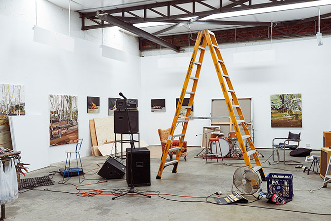 Guy Maestri studio photo by Kyle Ford