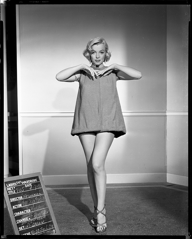 Wardrobe test for How To Marry a Millionaire (Jean Negulesco, 1953) ©1953 and 2016 Twentieth Century Fox.