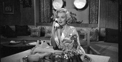 Film still from Gentlemen Prefer Blondes (Howard Hawks, 1953). ©1953 and 2016 Twentieth Century Fox.