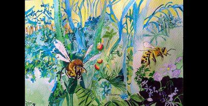 Rebecca De Figueiredo: Bees and Dandelions