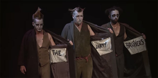 Still from: The Dirty Brothers Sideshow present The Dark Party.