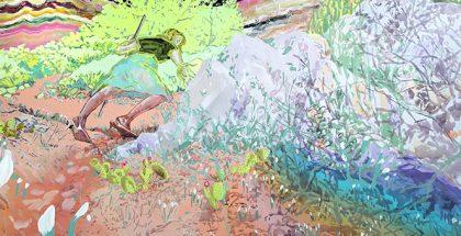 Sophie Hewson, Untitled (detail) 2016